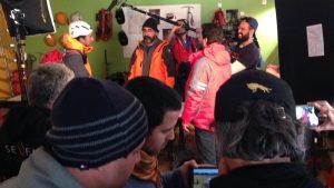 Equipe técnica envolve profissionais do Brasil, Argentina e Chile. Foto: Francis Matos