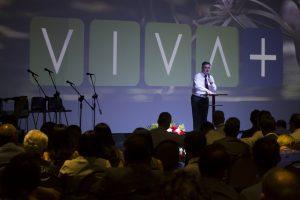 """Espaço """"Viva +"""" foi criado com o objetivo de abrir portas para a pregação do evangelho por meio de uma abordagem voltada para a saúde. Imagem: Márcio Tonetti"""
