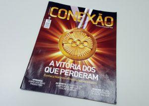 Edição de julho-setembro da revista Conexão 2.0 traz histórias olímpicas que ensinam importantes lições. Clique aqui para a cessar a versão on-line.