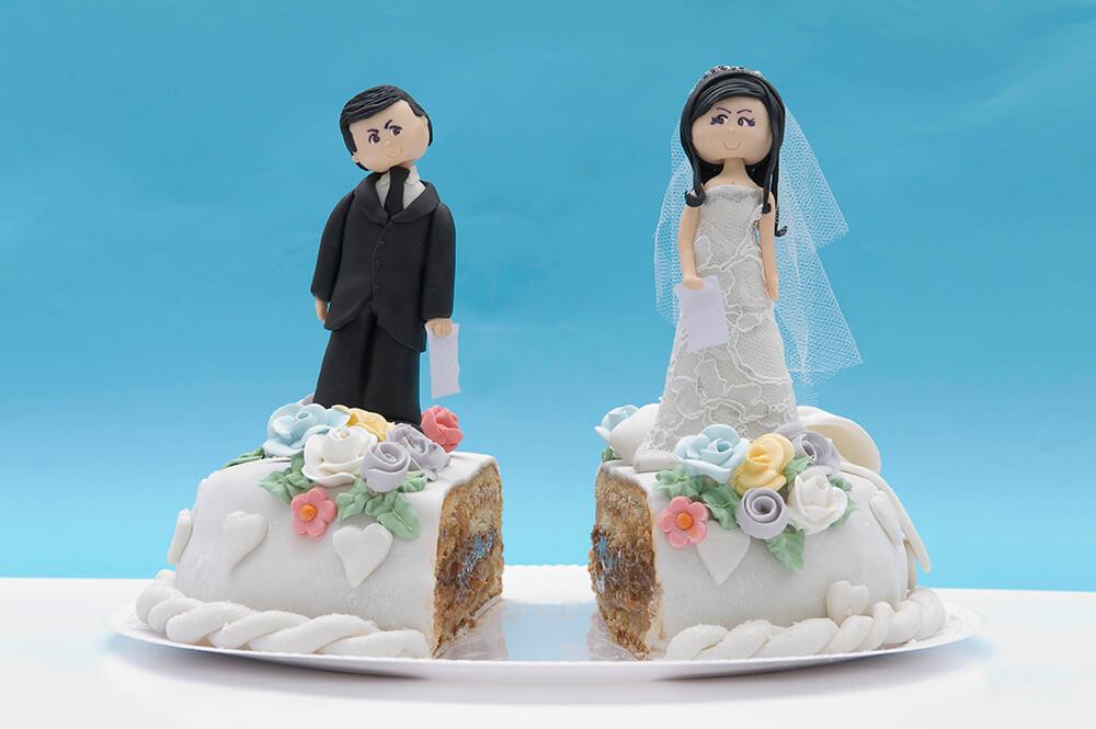 Número de divórcios no Brasil aumentou 160% na última década, segundo o IBGE. Créditos da imagem: William de Moraes