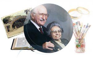 Casados há 75 anos, Jorge e Eunice Walting foram retratados na seção Perfil da edição de julho deste ano da Revista Adventista.