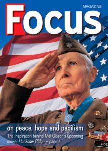 Edição especial da revista Focus trata sobre Desmond Doss e as crenças adventistas.