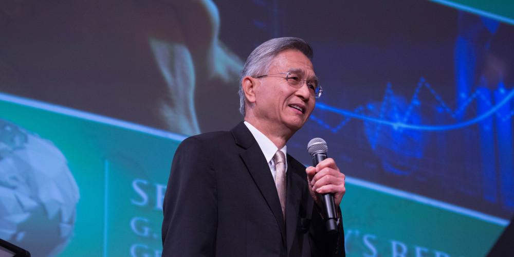 """""""Batismo e conservação devem caminhar de mãos dadas"""", diz secretário-executivo da sede mundial ao mostrar os elevados índices de apostasia na igreja. Foto:"""