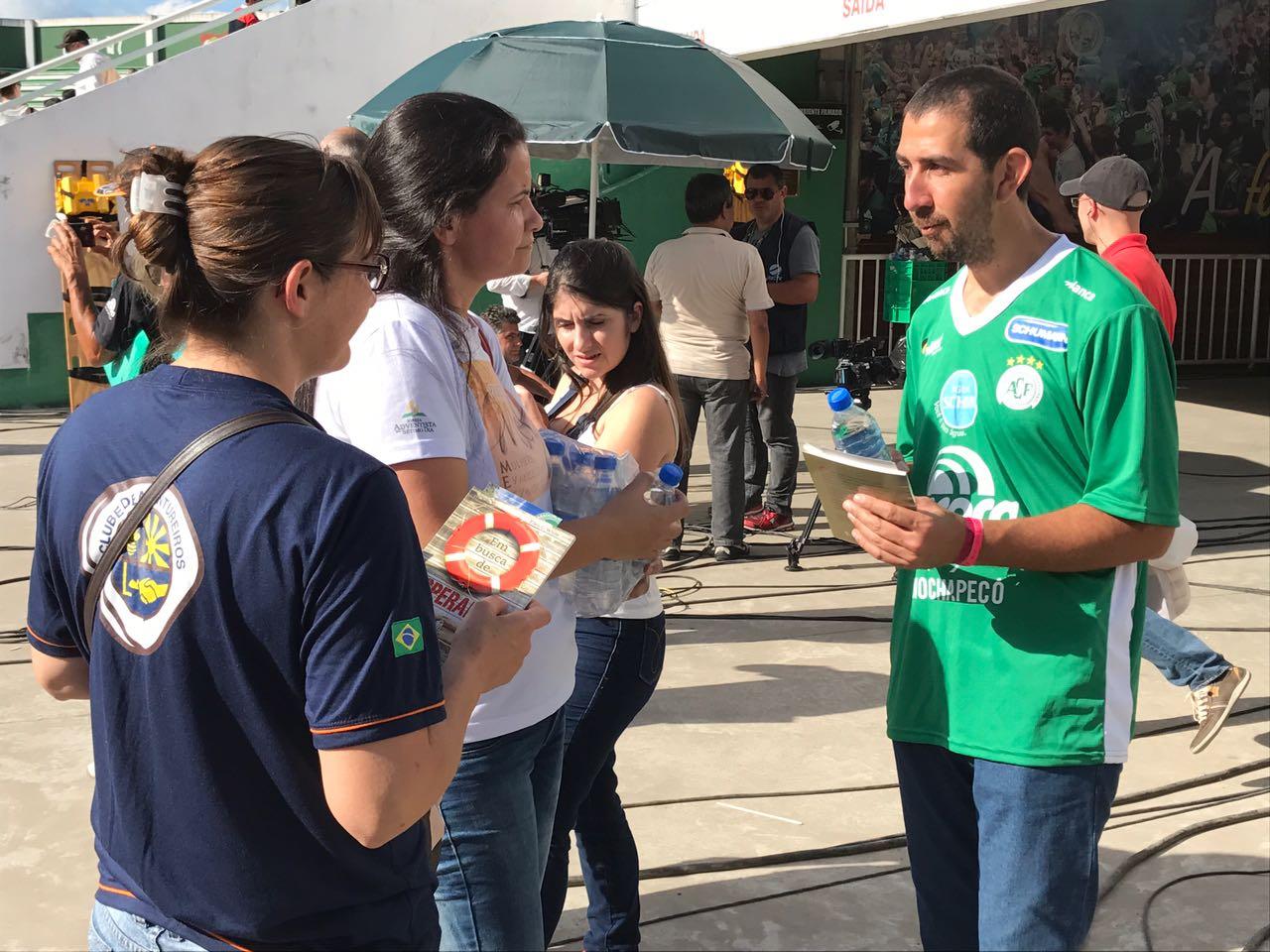 Apoio aos familiares das vítimas da tragédia da Chapecoense - foto 2