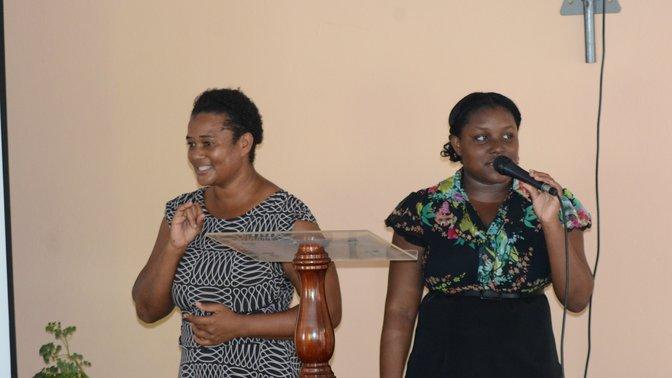 Primeira igreja de surdos da Jamaica