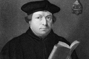 Martinho Lutero, monge alemão que deu início à reforma Protestante
